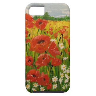 Poppies iPhone 5 Covers