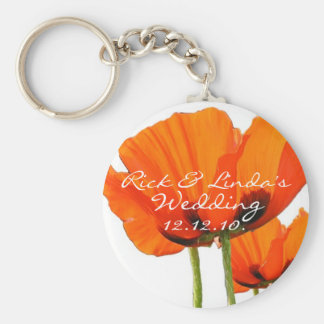 Poppies ! key ring