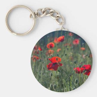 Poppies Key Ring