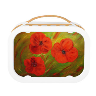 poppies lunchbox