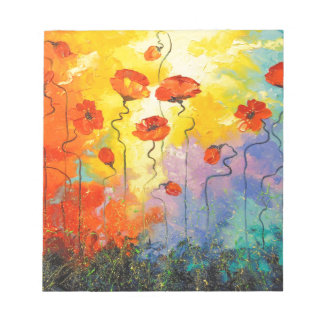 Poppies Notepads