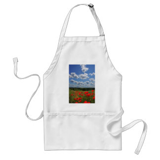 Poppies Standard Apron