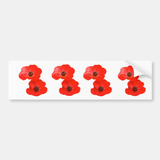 Poppies stickers
