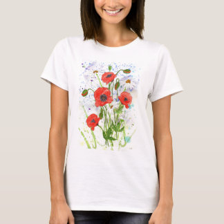 'Poppies' T-Shirt