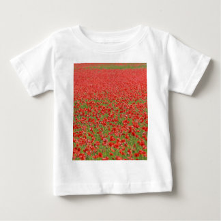 Poppies - thousands! baby T-Shirt