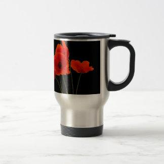 """Poppies"" Travel Mug"