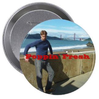 Poppin' Fresh 10 Cm Round Badge