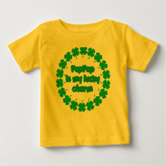PopPop is My Lucky Charm Baby T-Shirt
