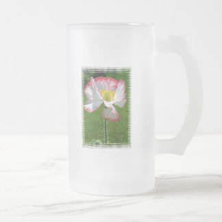 Popppy Photo Frosted Beer Mug