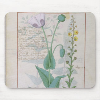Poppy and Figwort Mouse Mat