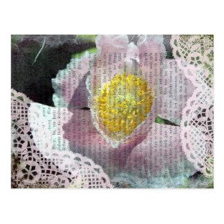 Poppy Art 4 Post Card