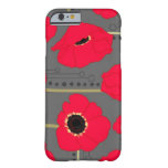 Poppy Barely There iPhone 6 Case