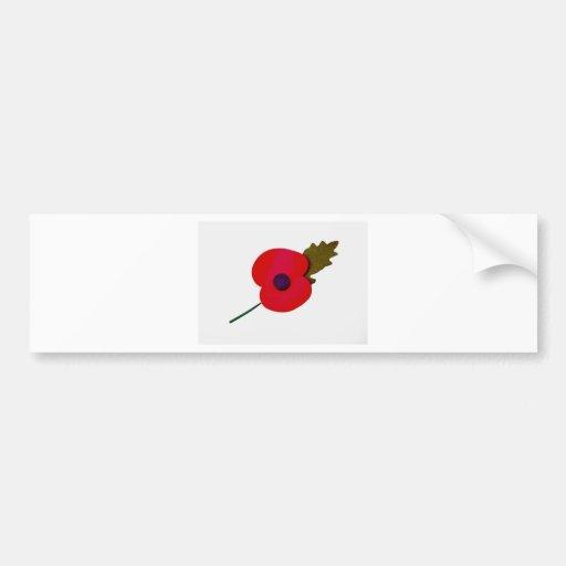 poppy bumper stickers
