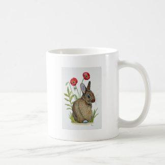 'Poppy Bunny' Coffee Mug