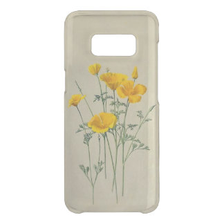 Poppy California Samsung Galaxy S8 Clearly Defend Uncommon Samsung Galaxy S8 Case