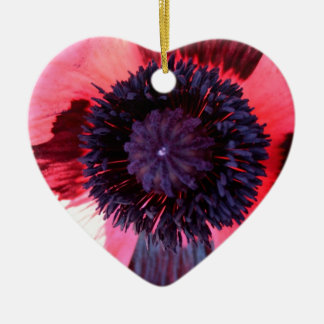 Poppy Christmas Ornament