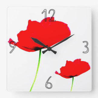 POPPY Collection (01) Wall Clock