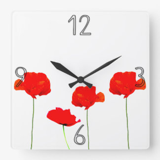 POPPY Collection 04 Wall Clock