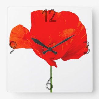 POPPY Collection 06 Wall Clock