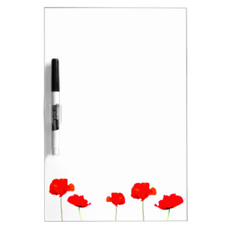 POPPY Collection Kitchen Dry Erase Board