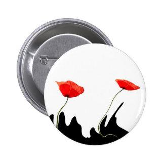 poppy collectioP 6 Cm Round Badge