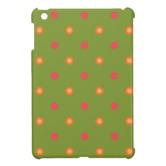 Poppy Colors Polka Dots Savvy Case for iPad Mini