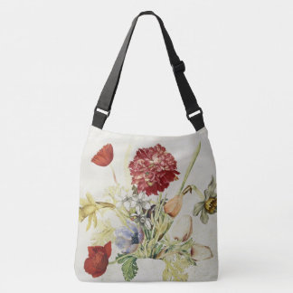 Poppy Daffodils Flowers Tote Bag
