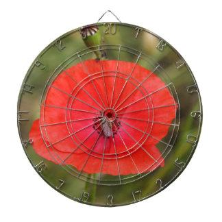 poppy dartboard