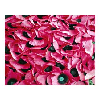 Poppy day 21.5 cm x 28 cm flyer