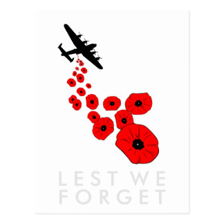 Poppy Day Postcard