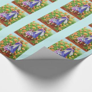 Poppy Fairies Unicorn Toy Wrapping Paper