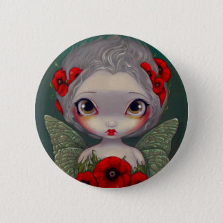 """Poppy Fairy"" Button"