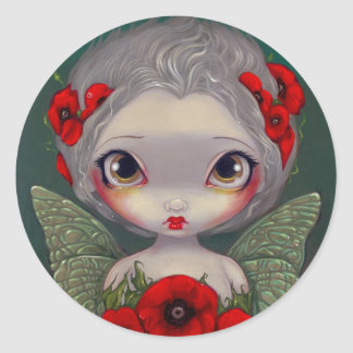 """Poppy Fairy"" Sticker"