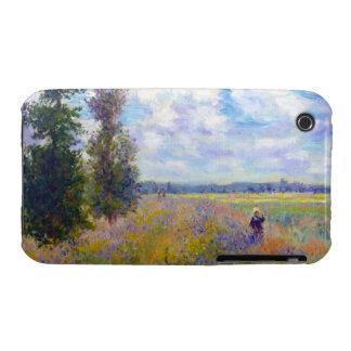 Poppy Field, Argenteuil, 1875 Claude Monet iPhone 3 Covers