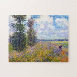 Poppy Field, Argenteuil, 1875 Claude Monet Jigsaw Puzzle