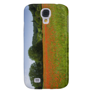 Poppy field, Chiusi, Italy Galaxy S4 Case