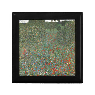 Poppy Field cool Small Square Gift Box