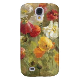 Poppy Field Galaxy S4 Case