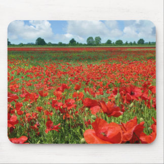 Poppy Fields Mouse Mat