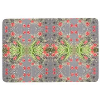 Poppy Flower / Plant Photo Floor Mat