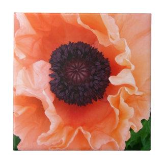 Poppy Flower Tile