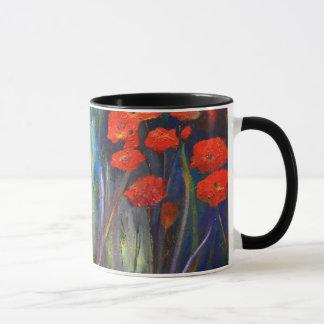"""""""Poppy Garden"""" Mug"""
