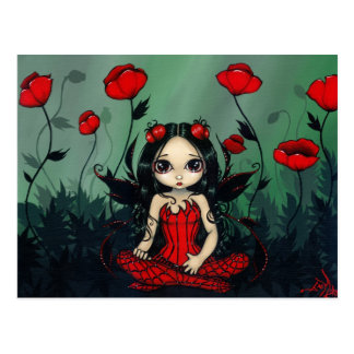 Poppy Garden Postcard