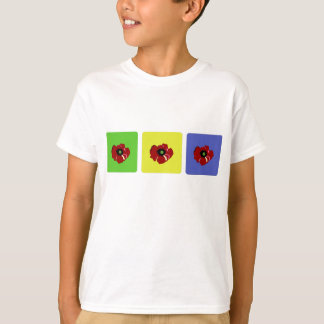 Poppy in Colored Squares Shirt