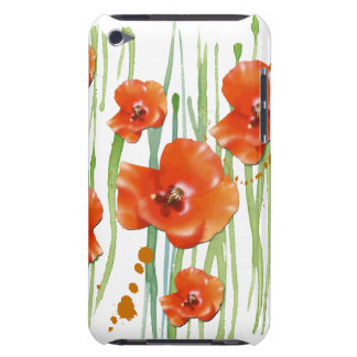 Poppy iPod touch Barely There iPod Cases