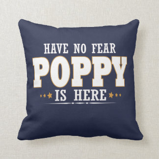POPPY IS HERE CUSHION
