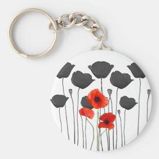 poppy key ring