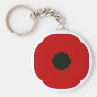Poppy Keychain