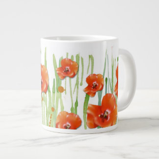 Poppy Large Coffee Mug