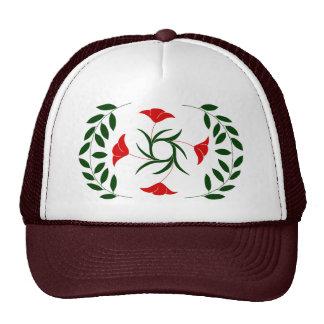 Poppy Laurel hat, red Cap